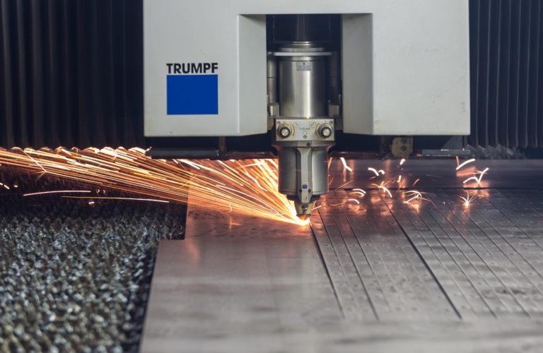 découpage laser et pliage